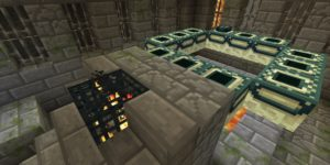 seed minecraft bedrock 1.9 stronghold fort