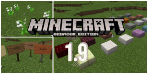 minecraft bedrock 1.9