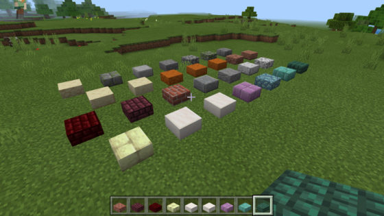 minecraft bedrocke 1.9 dalles