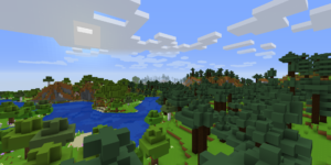 minecraft promo art pack foret