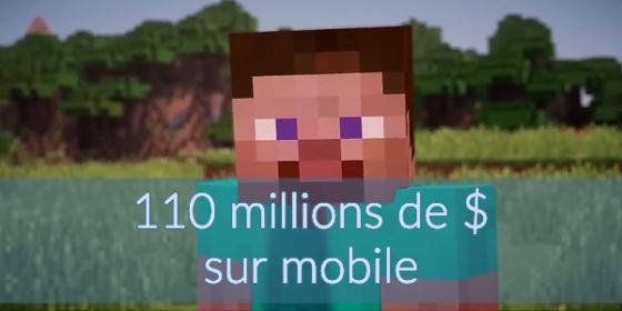 Revenus de Minecraft sur mobile