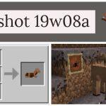 Minecraft 1.14 : Snapshot 19w08b