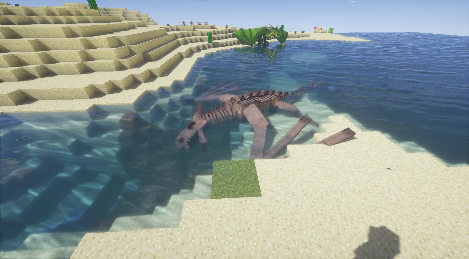 squelette de dragon