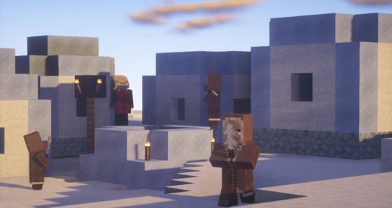 villageois du froid