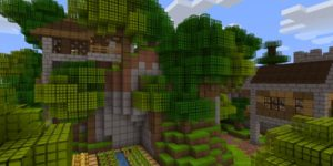 pack ressources minecraft gridpixel foret 2