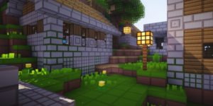 pack ressources minecraft gridpixel village
