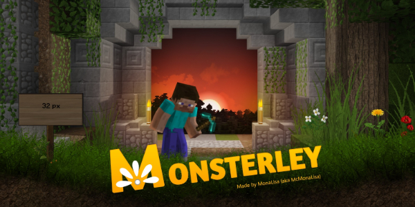 [Pack de Ressources] Monsterley HD Universal – 1.13 → 1.15