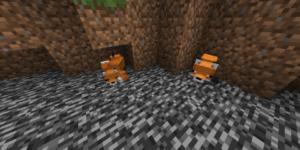 dormir sous bloc renard minecraft 1.14