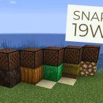Minecraft 1.14 : Snapshot 19w09a