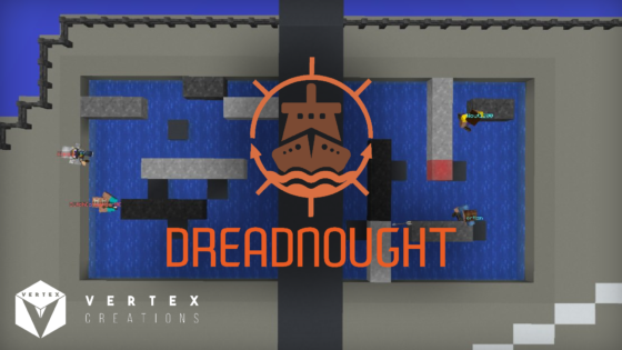 map minecraft dreadnought touché coulé affiche