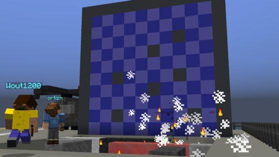 map minecraft dreadnought touché coulé tableau de jeu