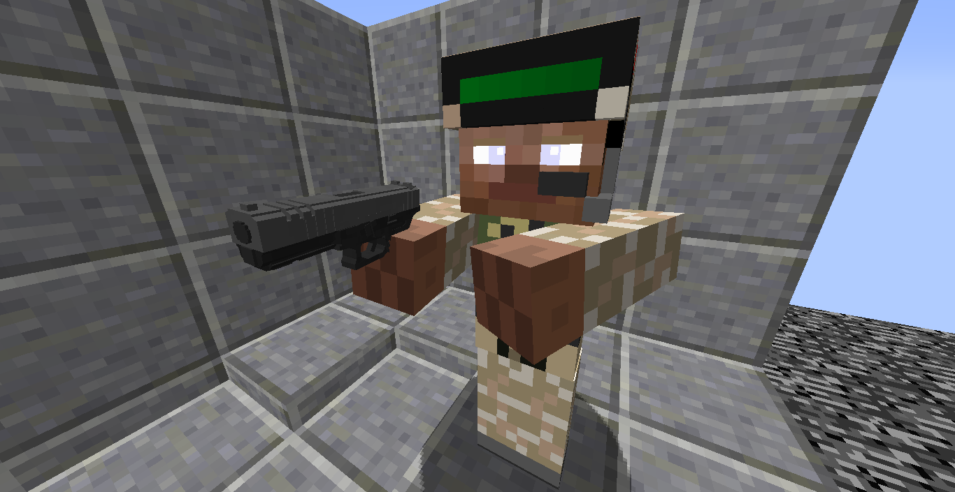 vics modern warfare glock21 joueur