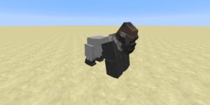 gorille male mod minecraft
