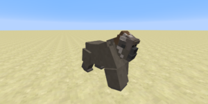 gorille femelle mod minecraft