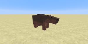hippopotame mod minecraft