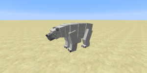 ours polaire mod minecraft