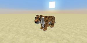tigre mâle mod minecraft