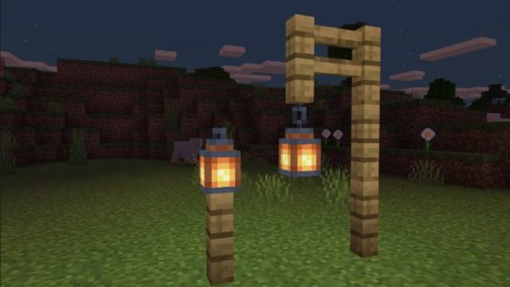 lanterne minecraft bedrock 1.10.0