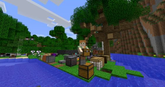 carry on mod minecraft coffre