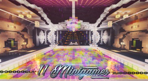 11 mini jeux map minecraft dance floor