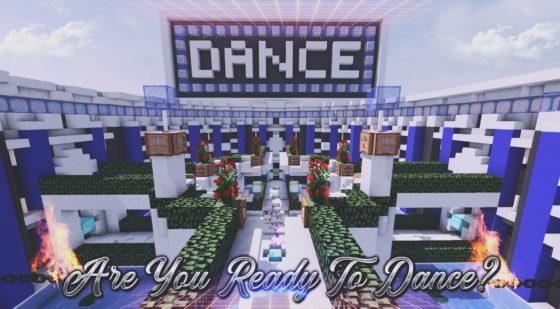 pist danse floor map minecraft mini jeux