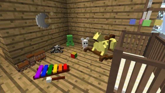 decocraft 2 chambre jouets