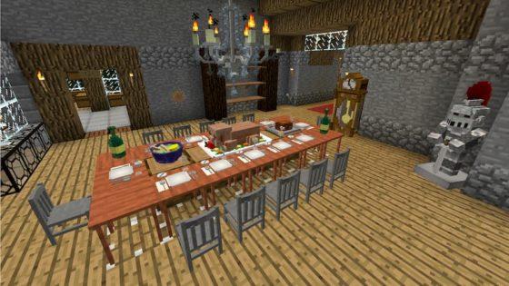 decocraft 2 table préparée
