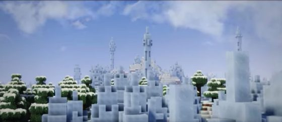 edi's shaders neige