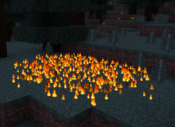 hirschgeist attaque de feu