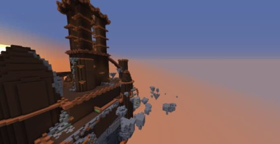 jump fortress map minecraft 1.13.2
