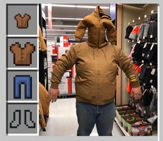 meme minecraft petite et grande veste