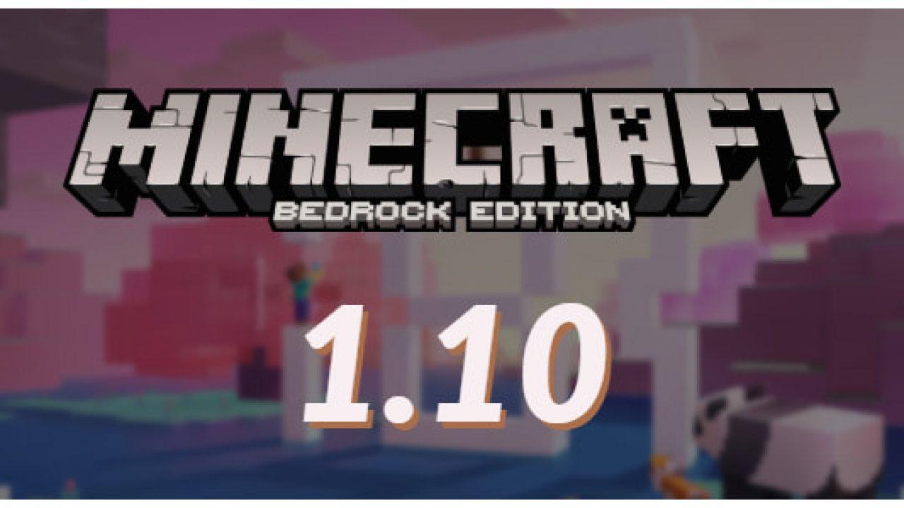 Mise à Jour Minecraft Bedrock 1100 Minecraftfr