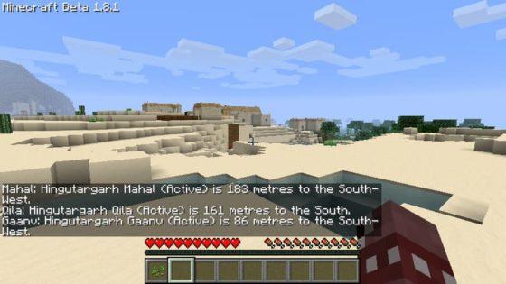 mod millenaire minecraft découverte d'un village