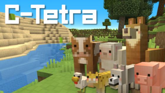 c-tetra pack de ressources minecraft