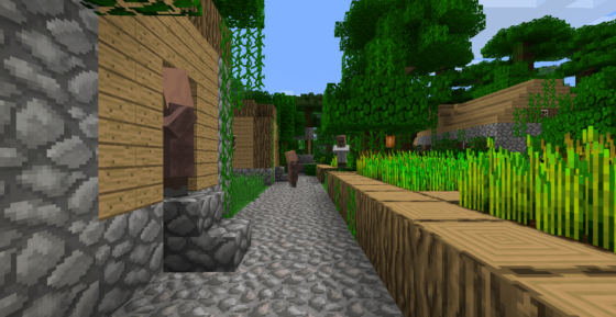 Faithful Minecraft : un village