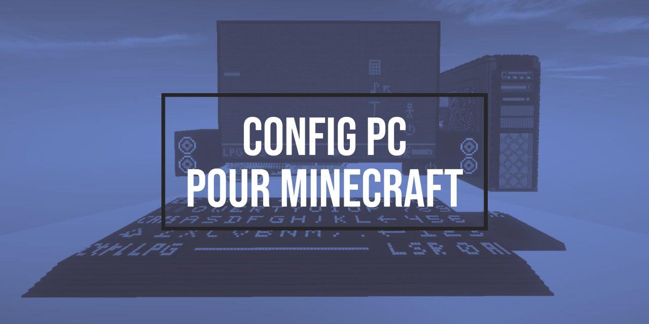 Un PC pour Minecraft