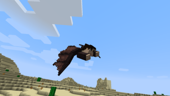 wings mod aile minecraft