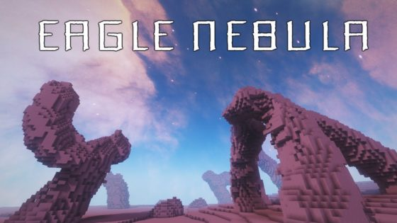 pack de textures minecraft eagle nebula logo