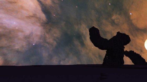 pack de textures minecraft eagle nebula ciel étoilé