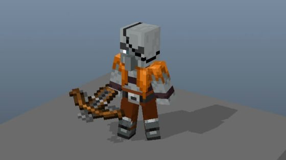 ancien concept skin pillard minecraft
