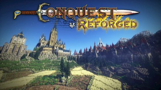 conquest reforge mod minecraft