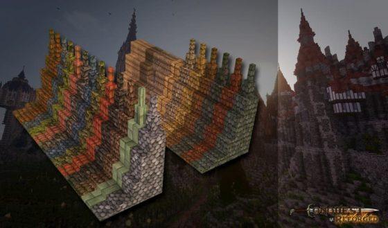nouveaux blocs dalles conquest reforged