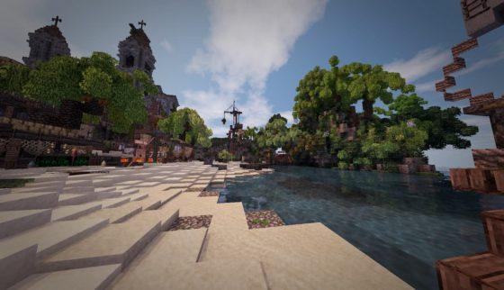 mod minecraft conquest reforged bateau pirate