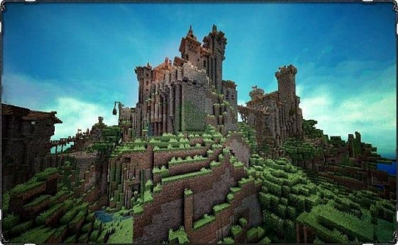 mod minecraft conquest reforged chateau