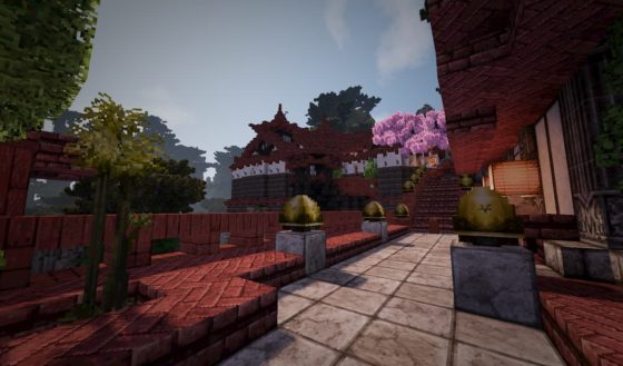 mod minecraft conquest reforged construction asiatique