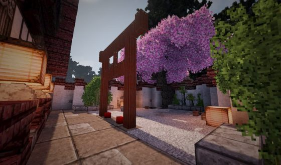 mod minecraft conquest reforged build asiatique