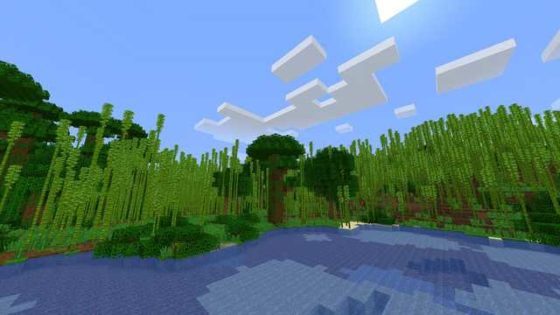Jungle de bambou Minecraft 1.14