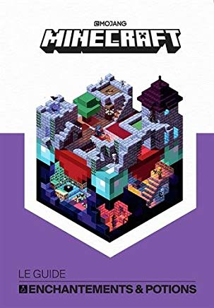 livre minecraft guide enchantement potion