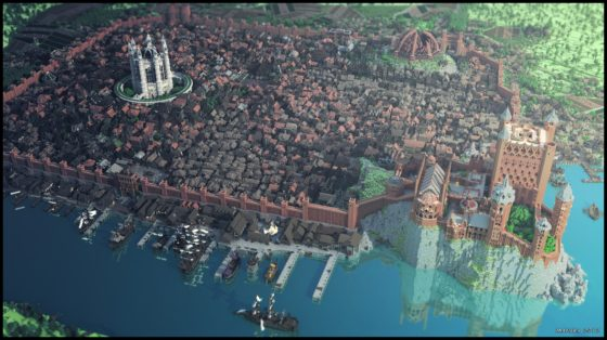 kings landing minecraft 2014