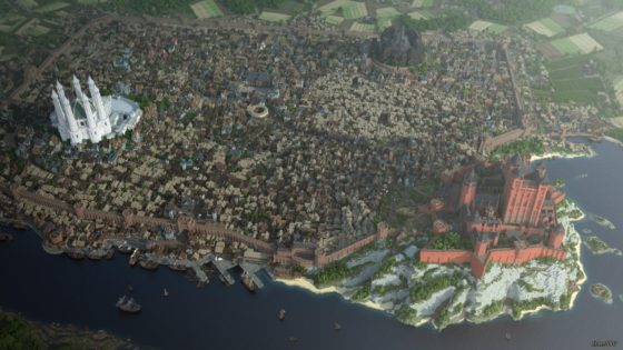 kings landing minecraft 2017